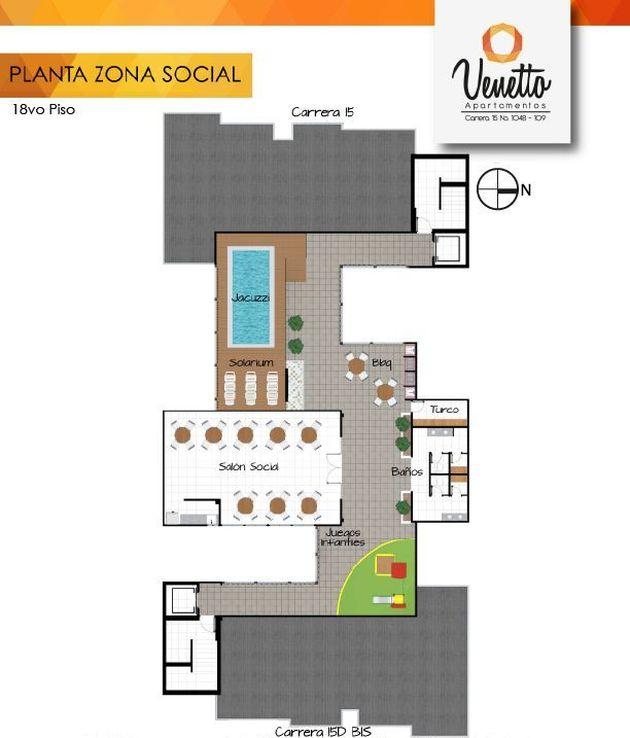 Planta Zona Social